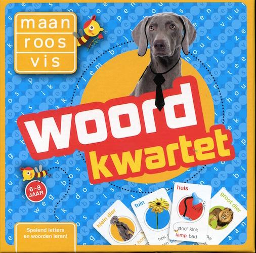 Maan Roos Vis: Woord kwartet