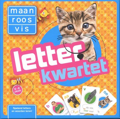 Maan Roos Vis: Letter kwartet
