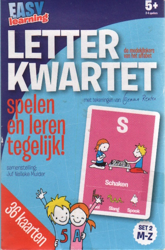 Letterkwartet: set 2 M-Z