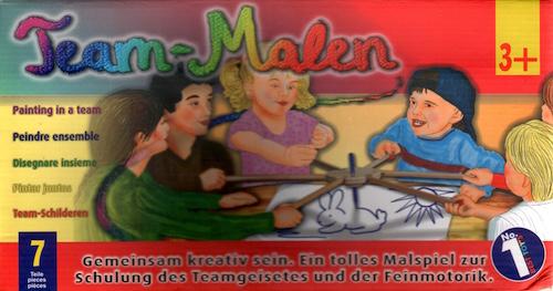Team Malen (Porte-crayon coopératif)