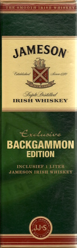 Jameson Exclusive Backgammon Edition