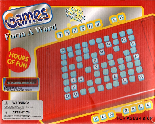 Games: Form a Word