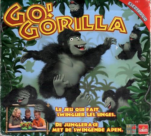 Go! Gorilla: De Junglerace met de Swingende Apen