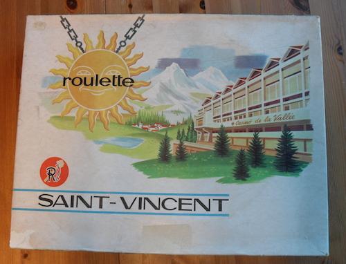 Roulette Saint-Vincent