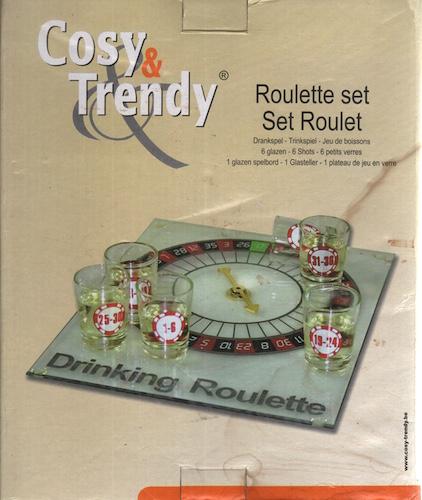 Roulette set drankspel