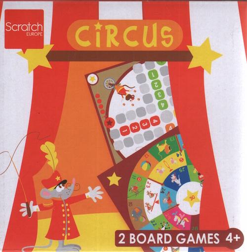 Circus: 2 Board Games
