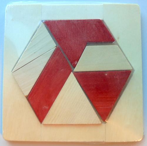 Tangram: zeshoekig