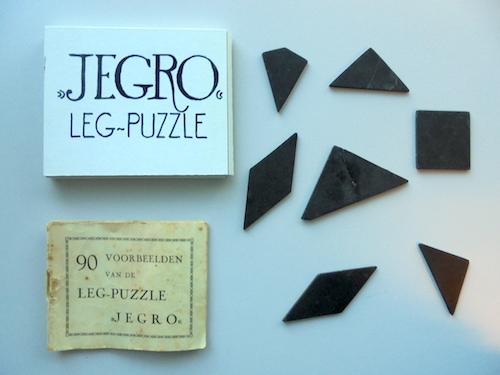Jegro Leg-Puzzle (Tangram)