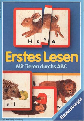 Erstes Lesen - Mit Tieren durchs ABC