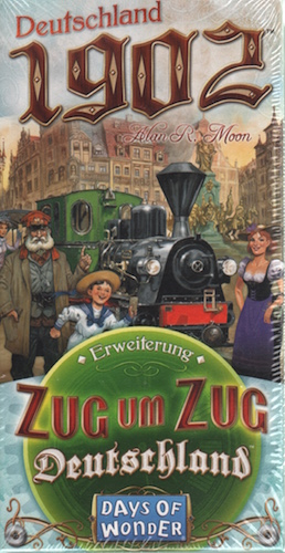 Deutschland 1902 (uitbreiding Zug um Zug Deutschland)