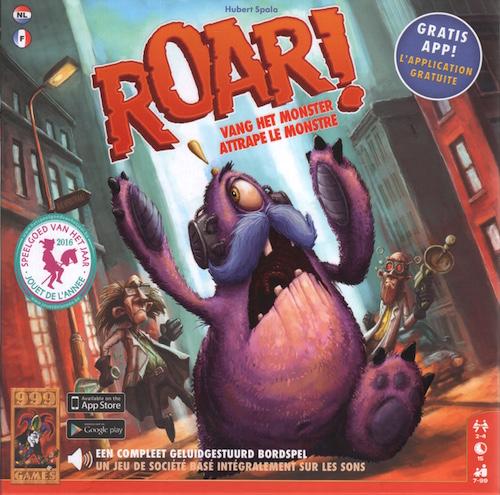 Roar! - vang het monster