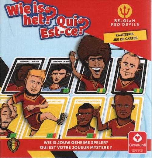 Wie is het? Belgian Red Devils Kaartspel