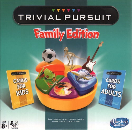 Trivial Pursuit: Family Edition (Globetrade)