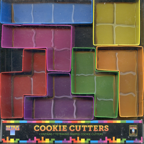 Cookie Cutters (Tetris)