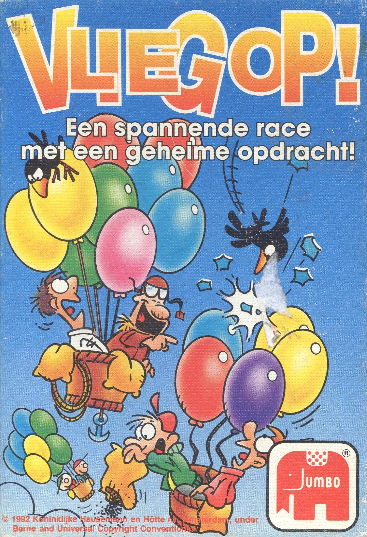 Vlieg op! (Een spannende race met een geheime opdracht!)