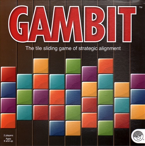 Gambit: The tile sliding game of strategic alignment