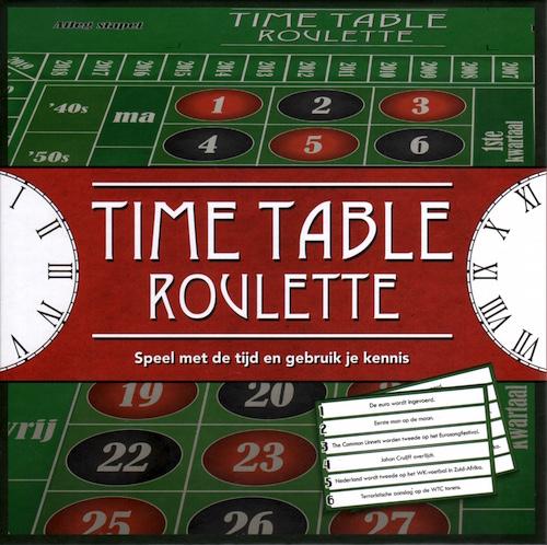 Time Table Roulette: Speel met de tijd en gebruik je kennis