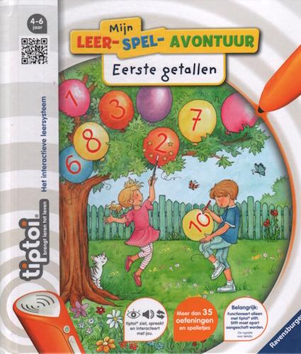 Tiptoi: Mijn leer-spel-avontuur: Eerste getallen