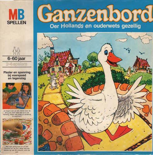 Ganzenbord: Oer Hollands en ouderwets gezellig