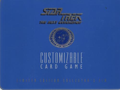 Star Trek the Next generatien Customizible Card Game