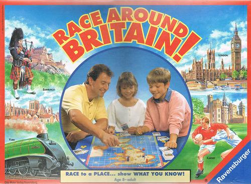 Race around Britain!