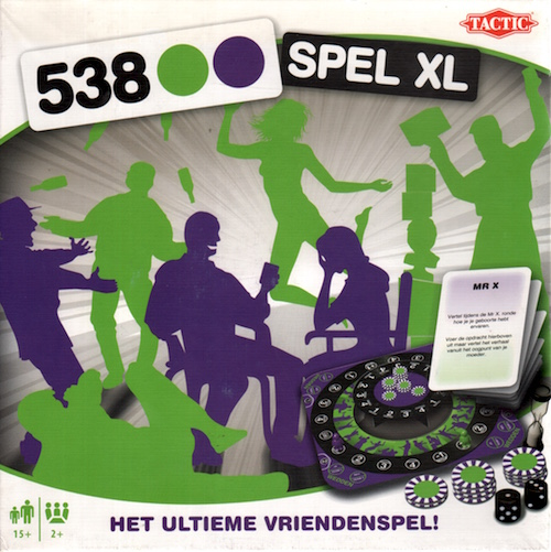 538.. Spel XL: Het ultieme Vriendenspel!