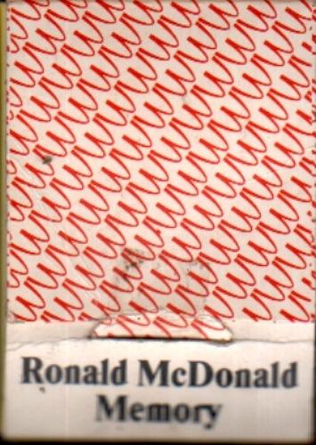 Ronald Mc Donald Memory