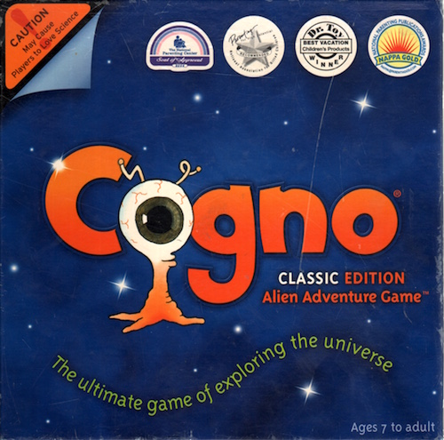 Cogno: The Alien Adventure Game, Classic Edition (The Ultimate game of exploring the Universe)