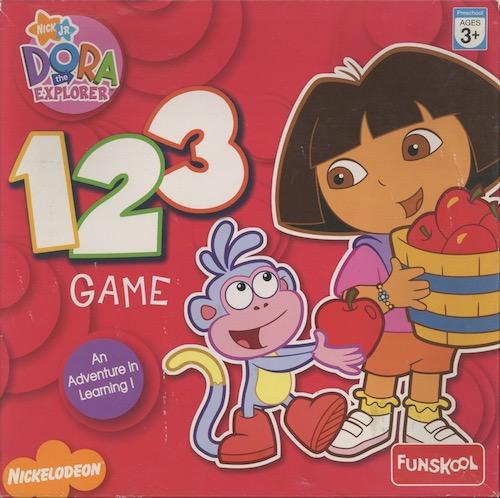 123 Game: Dora the Explorer