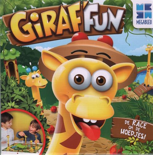 Giraf Fun het Spel om de Hoedjes
