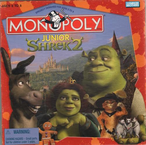 Monopoly: Junior Shrek 2