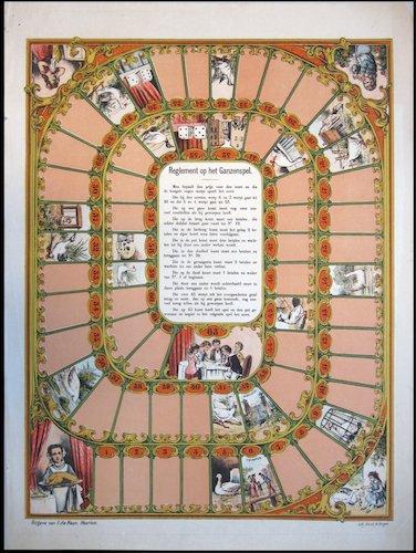 Reglement op het Ganzenspel