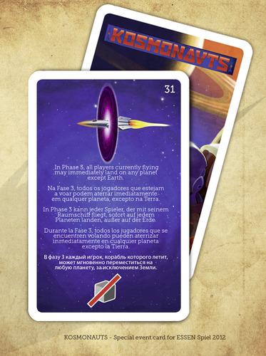 Kosmonauts: Promo Event Card #31