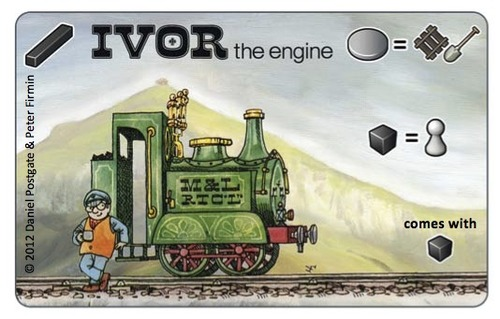 Snowdonia: Ivor the Engine Promocard B
