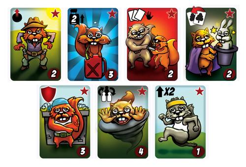 Get Nuts: Bonus Action Cards