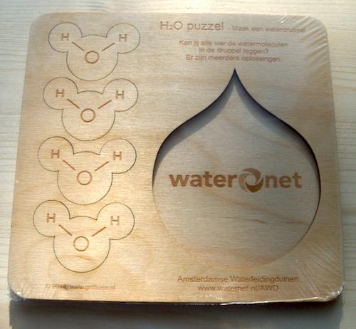 H2O Puzzel: Maak een Waterdruppel