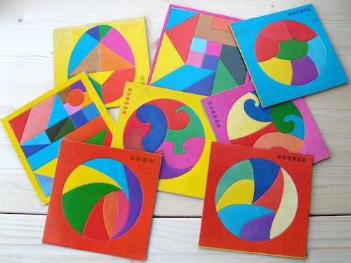 Set: Geometrische Tangram Puzzels