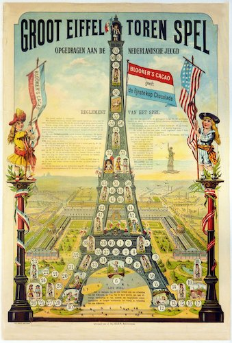 Groot Eiffel Toren Spel