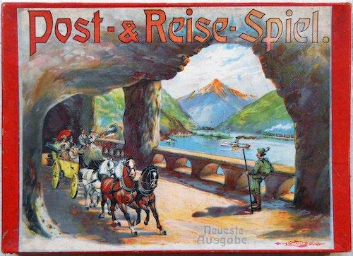 Post- & Reise-Spiel