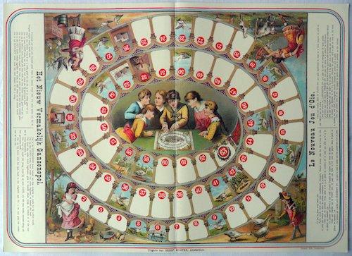 Het Nieuw Vermakelijk Ganzenspel (Le Nouveau Jeu de l