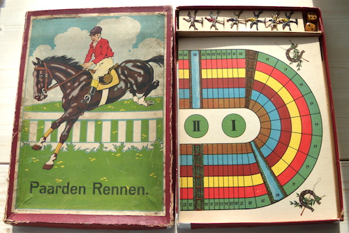 Paarden Rennen: Dat Wedrennerspel