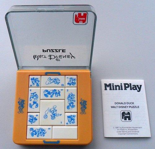MiniPlay: Donald Duck Walt Disney Puzzle (Reisbureau Succes)