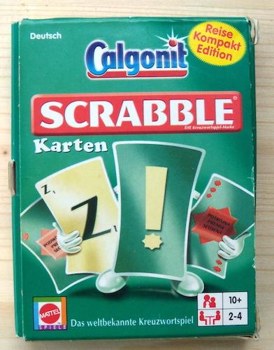 Scrabble: Karten (Reise Kompakt Edition)