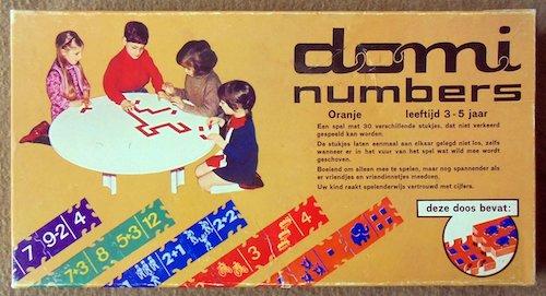 Domi Numbers (oranje)