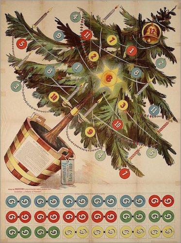 Het Spel om den Kerstboom