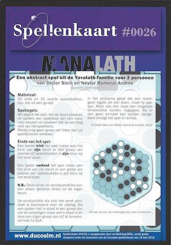 Spellenkaart #0026: Manalath