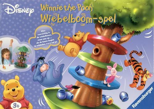 Wiebelboom-Spel Winnie the Pooh