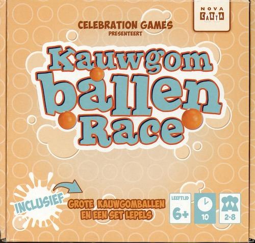 Kauwgom Ballen Race