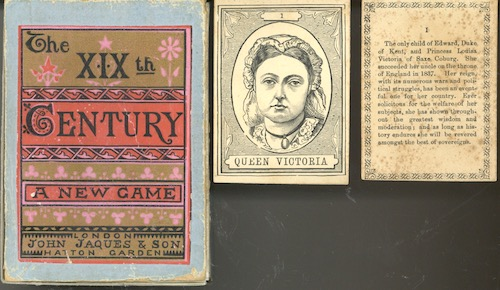 The XIXth Century: A new Game