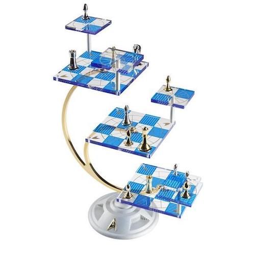 The Official Star Trek Tridimensional Chess Set